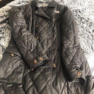 The North Face Primaloft long jacket black size M